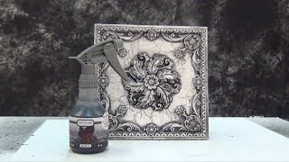 Resin Casting Tutorial: Antique Marble Finish