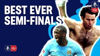 BEST EVER FA Cup Semi-Finals! | Man Utd, Man City, Arsenal & more | Emirates FA Cup 18/19