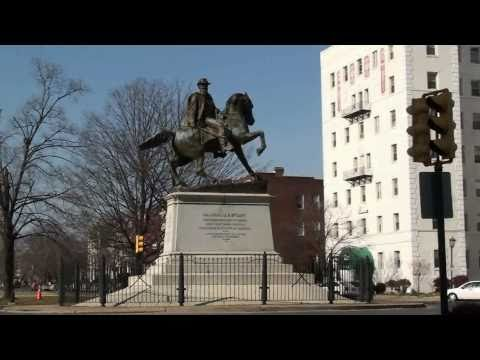 Monument Ave, Richmond VA HD Video