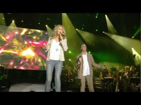 Celine Dion & Zachary Richard - L'arbre est dans ses feuilles (Live a Quebec)