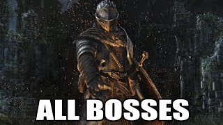 Dark Souls: REMASTERED - All Bosses (With Cutscenes) HD 1080p60 PC