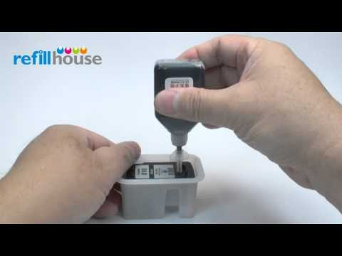 How to refill Canon PG-810, PG-810XL Inkjet Cartridge - Auto-Refill System