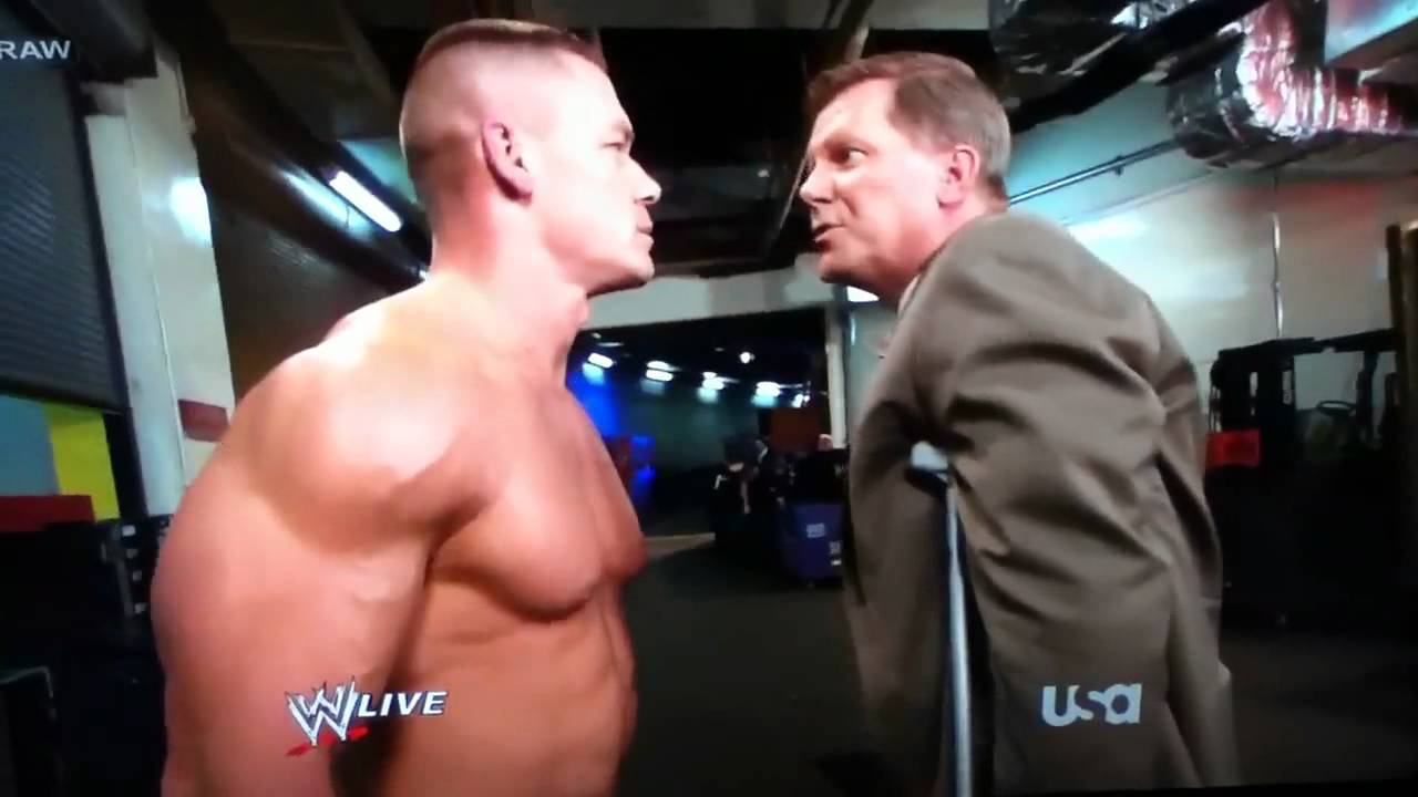 John cena gets knocked out by big show youtube