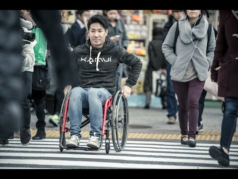 Kamui Kobayashi - A Day in a Wheelchair