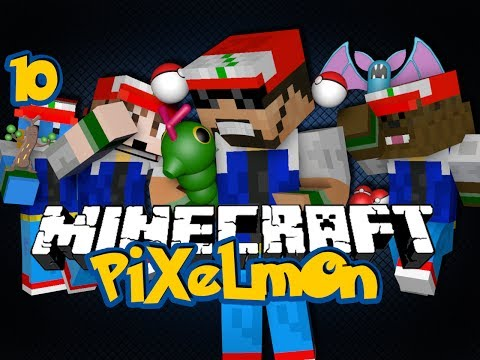 Minecraft Pixelmon 10 - BATTLE TOURNAMENT (Pokémon in Minecraft)