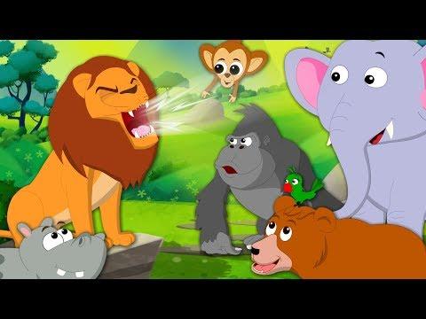 Roar Roar Lion   Kindergarten Nursery Rhymes For Children by Kids Tv