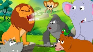 Roar Roar Lion | Kindergarten Nursery Rhymes For Children by Kids Tv
