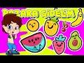 Pazara Gidelim Bir Çilek Alalım Şarkısı (Meyveler) - Bebek ve Çocuk Şarkıları