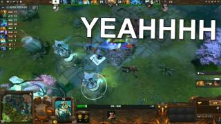 Finest moments from the Korean casters Dota2 - TI3 iG vs DK Game 2 [93 Minute Game]