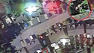 Google Earth Captures an ALIEN Attack