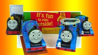 McDonalds Happy Meal Thomas the Tank Engine and Friends Toys Hiro