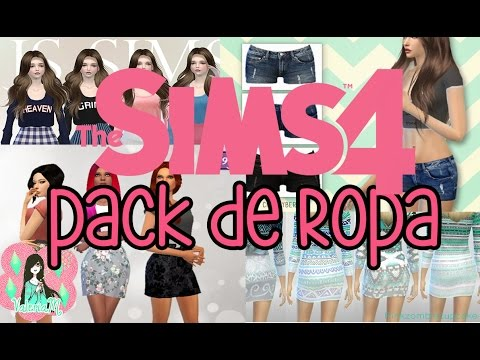 Los Sims 4: Descargas Mega Pack de ropa