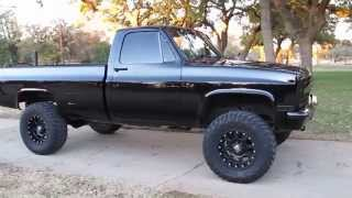1986 Chevrolet 3/4 ton 4x4, new, interior, new paint, solid Texas truck, cold a/c SOLD
