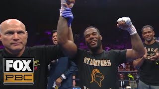 Chordale Booker defeats Wale Omotoso by unanimous decision | HIGHLIGHTS | PBC ON FOX