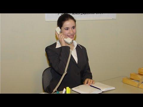 Clique e veja o vídeo Curso Treinamento de Recepcionista