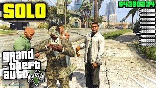 THE EASIEST GTA 5 ONLINE SOLO UNLIMITED MONEY GLITCH AFTER PATCH 1.46 GTA 5 MONEY GLITCH