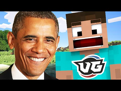 Wannabe HACKER Building Obama and Threatening me in Minecraft Trolling Part 2