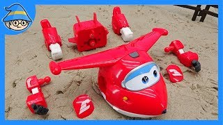 SUPER WINGS hurts. I need repair. Let's assemble the airplane and fly the sky.