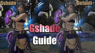 How to make FFXIV look better with Gshade | Guide & Basics (No PS4 support)