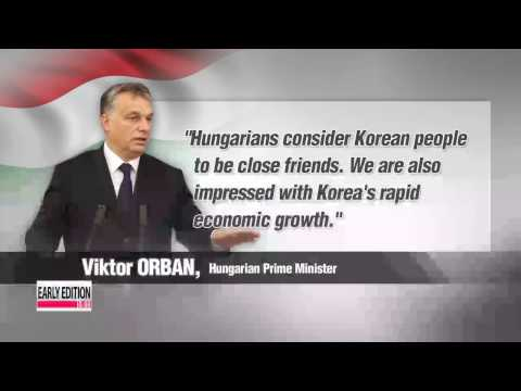 Leaders of South Korea, Hungary discuss North Korean nuclear issue, economic coo