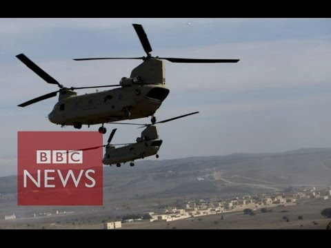 Nato war games - in 90 seconds - BBC News