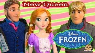 Disney Frozen Prince Hans, Princess Anna, Kristoff Dolls Series Part 42   Cookieswirlc Video