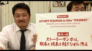 "Manga is ""FABRIC"" - the ""Vertical/Horizontal THREADS"" - Japanese Manga 101 #047"