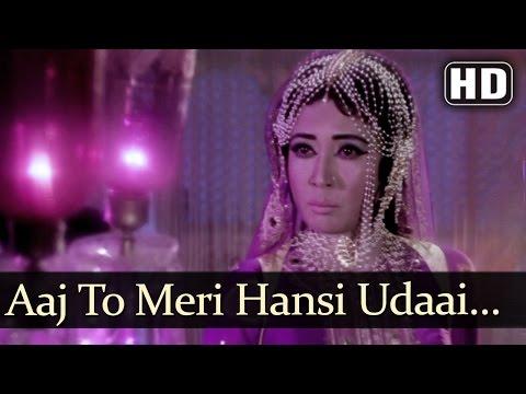 Aaj To Meri Hansi Udaai Jaise - Mujra - Meena Kumari - I.S.Johar - Bollywood Songs - R.D. Burman