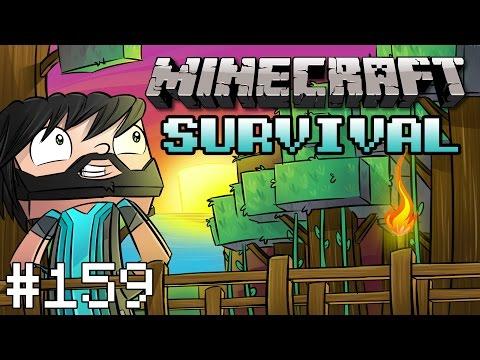 Minecraft : Survival - Part 159 - Rainbow Beacons!
