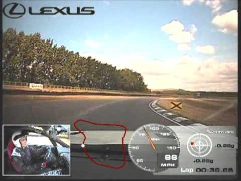 2010 Lexus LFA — круг Михаила Петровского