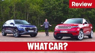 2019 Audi Q8 vs Range Rover Velar – which is the best luxury SUV?   What Car?