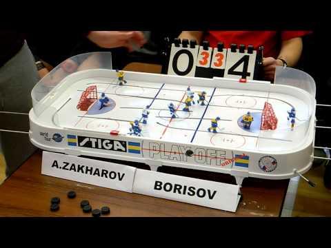 Table Hockey. Moscow Cup 2013. A.Zakharov-Borisov. Game 7