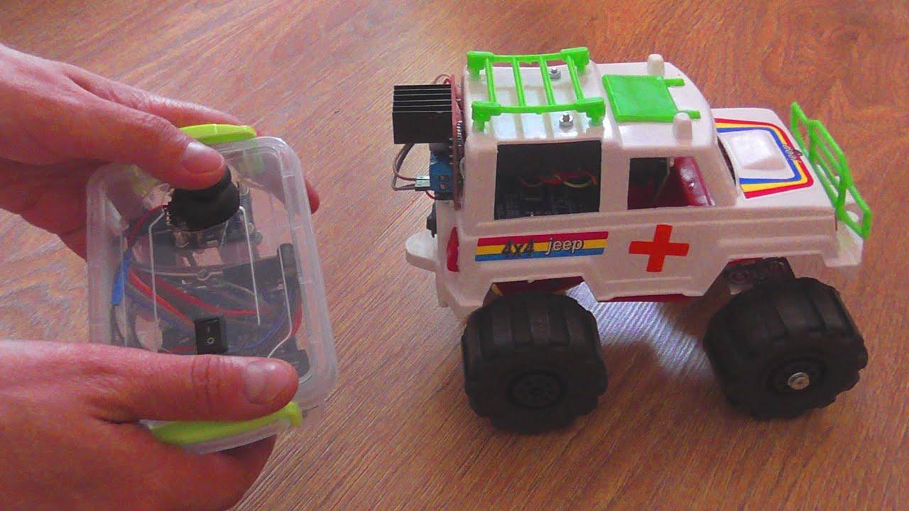 Как сделать радиоуправляемую машинку своими руками