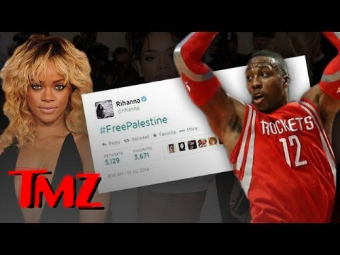 Rihanna's #freepalestine Tweet Disappears video