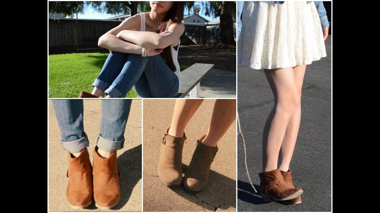 How To Wear A Bootie Shoe