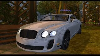World of Warcraft Cataclysm Mods - Bentley Continental SS