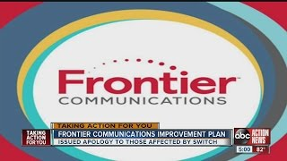 Verizon sold to Frontier Communications