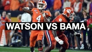 Clemson QB Deshaun Watson National Title Game Highlights