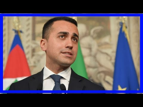 Breaking News | Di Maio met with the Italian president today - report