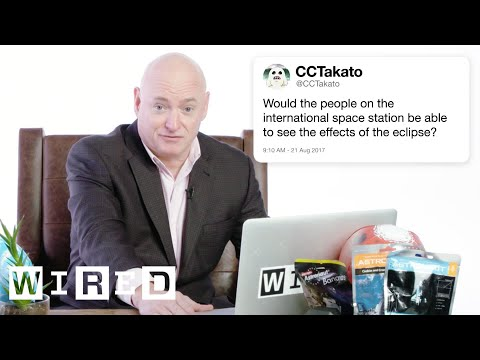 Astronaut Answers Space Questions From Twitter | Tech Support | WIRED