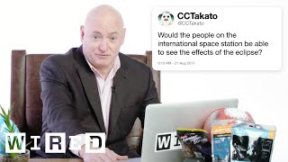 Scott Kelly Answers Astronaut Questions From Twitter | Tech Support | WIRED by : WIRED