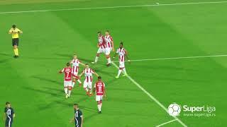Super liga 2018/19: 12.kolo: CRVENA ZVEZDA – RAD 3:1 (2:0)