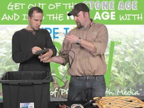 Hydroponics How To  How To Build A Flood And Drain Hydroponic System