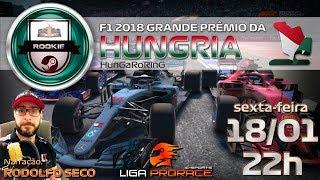 F1 VIRTUAL | F1 2018 PC ROOKIE | GRANDE PREMIO DA HUNGRIA 2019 | F1 AO VIVO