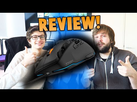 ROCCAT Tyon Gaming Muis - REVIEW!