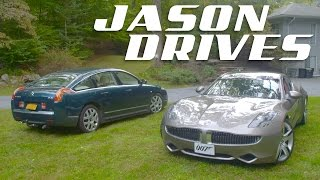 What It's Like To Drive The Two Weirdest Luxury Cars In America Right Now | Jason Drives