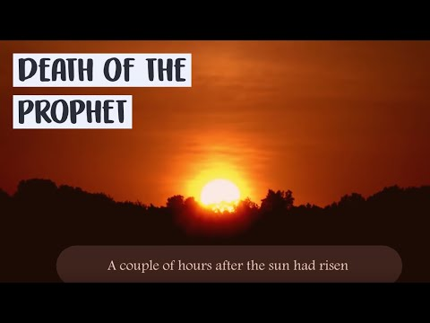 Death of the Prophet ﷺ - Sheikh Yahya Ibrahim [Al-Mustafa]