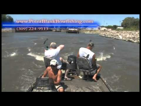 Asian Carp Bowfishing Illinois River