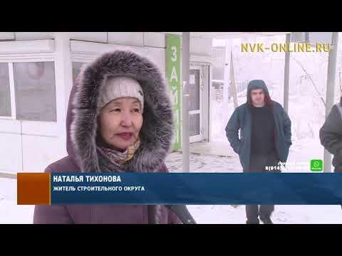 Жители Строительного округа Якутска ждут переноса теплой остановки на улице Жорницкого