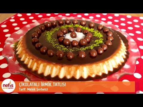 Çikolatalı İrmik Tatlısı  - İrmik Tatlısı -  Nefis Yemek Tarifleri